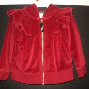 Cat & Jack Infant Girl's 12 Mos Hooded Jacket Red